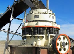 70-180t/h Cone Crusher for Crushing Pebbles in India